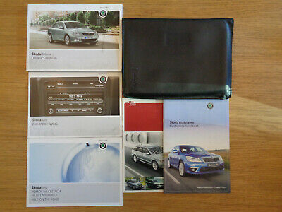 Skoda Octavia Owners Handbook/Manual and Wallet 09-13