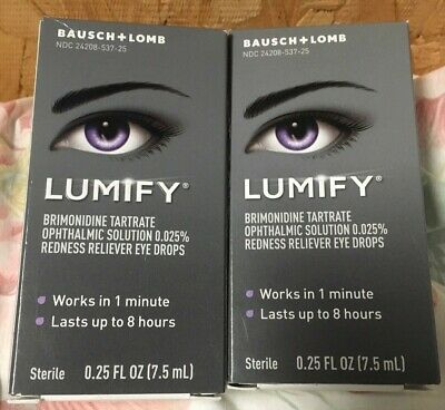 Bausch + Lomb Lumify .25oz (7.5ml) TWO PACK