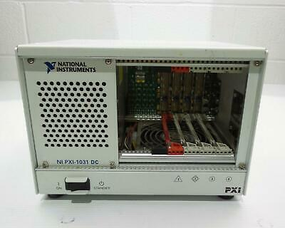 National Instruments NI PXI-1031 4-Slot 3U PXI Chassis