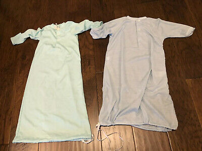 Vintage Spencer Baby Gown Set With Drawstrings