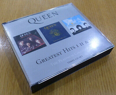 Queen - Greatest Hits I Ii And Iii (The Platinum Collection) Triple Cd
