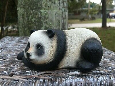 Gorgeous Vintage Highly Detailed Panda Bear figurine Lovely