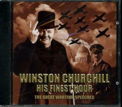 Winston Churchill - His Finest Hour: The CD Incredible Value and Free Shipping!