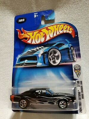 Hot Wheels 1969 Dodge Charger. Rare,HTF! Opening hood. '04 First Editions #2/100
