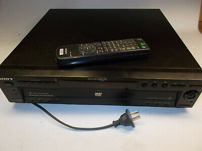 Sony DVD CD player DVP-NC600 5 changer, with remote.