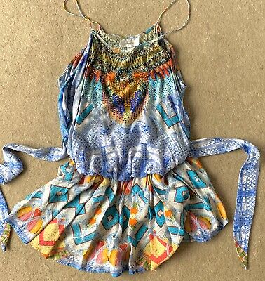 Camilly Shoe String Playsuit