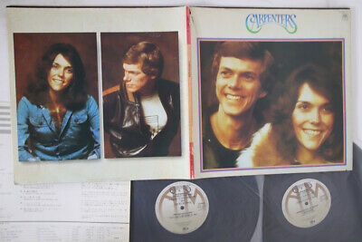 2LP CARPENTERS Superdisc GXF90012 A&M JAPAN Vinyl