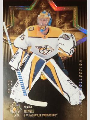 Mint 10 Pieces Limited Pekka Rinne 18 19 Ultimate Base