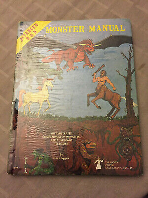 Advanced Dungeons & Dragons 1st Edition - Monster Manual
