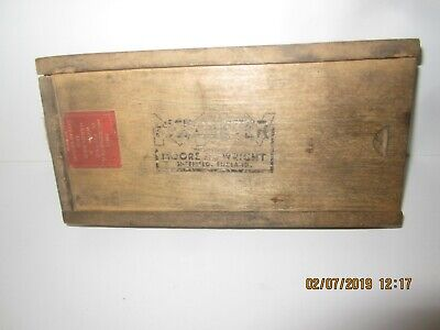 "Moore & Wright 1"" -2"" Micrometer In Original Box"