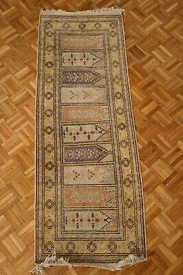 Alter PERSER TEPPICH | 60x170 | handgeknüpft | old handknotted persian rug