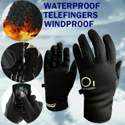 Cycling Gloves Adult Waterproof Touch Screen Outdoor Sport Driving Warm ON SALE
