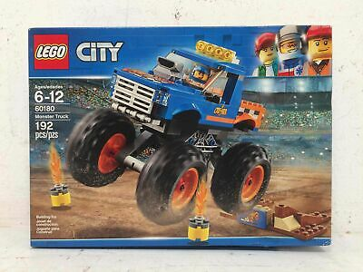 LEGO City 60180 Monster Truck 192pc Building Toy Set NIB