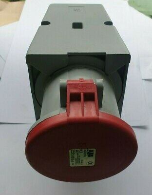 ABB 463RS6 IP44 Red Surface Mount 3P+N+E (R5S10.7)