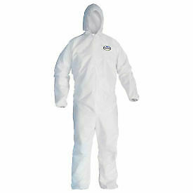 Kleenguard A40 Liquid & Particle Protection Coverall 44324, White, XL, 25/Case