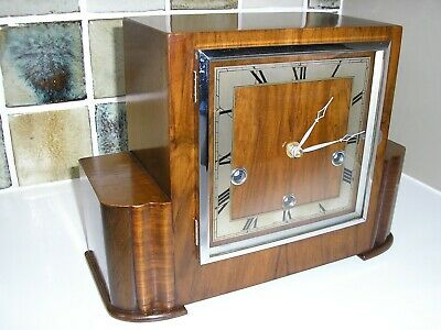 1930's ENFIELD MANTLE CLOCK - CONVERTED