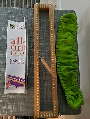 """Authentic Knitting Board 18""""  Loom"""