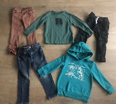 Boys bundle 3-4 years next skinny jeans green dinosaur hoody G113