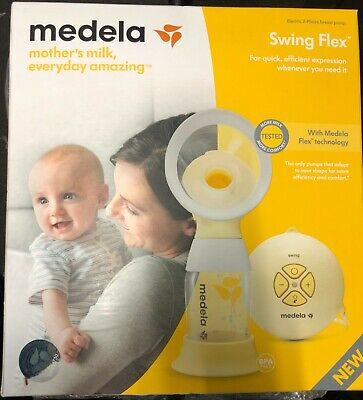 Medela Swing Flex Electric 2 Phase Breast Pump New And Sealed In The Box