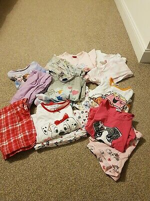 Girls Pyjamas Bundle 4-5 Years
