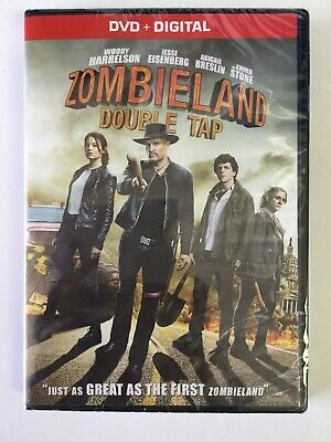 Zombieland: Double Tap DVD + DIGITAL!! Brand New Sealed!!!
