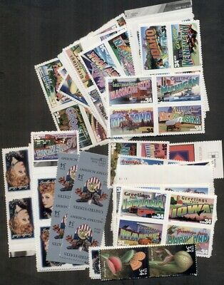 U.s. Discount Postage Lot Of 100 34¢ Stamps, Face $34.00 Selling For $25.50!