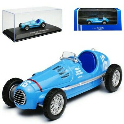 1:43 atlas Gordini saga Gordini Type 15 gp france fomule 1500 1948