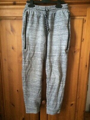 Next Boys Grey Trousers Slim Leg Joggers Age 12 Years