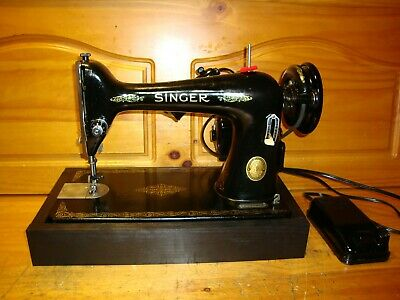 1952 Singer Sewing Machine Model 66, Serviced