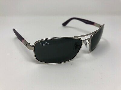 RAY-BAN JUNIOR RJ9536S 248/87 SILVER Purple AUTHENTIC KID'S SUNGLASS Girls MU73