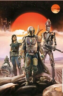 "The Mandalorian Poster (11"" X 17"") Collector's Poster DISNEY STAR WARS"