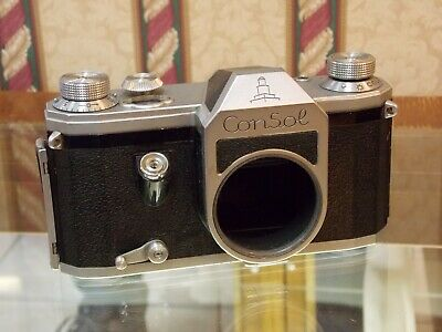"**Rare** Veb ""Consol"" 35Mm Camera - Germany Ussr Occupied - Untested"