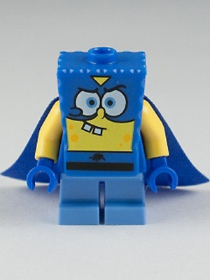 LEGO bob l/'éponge bleu lei mini figure new