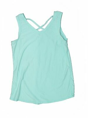 90 Degrees by Reflex Girls Blue Active Tank M Youth