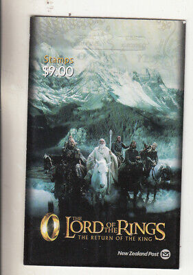 New Zealand: 2003 Lord of the Rings:The Return of the King. $9.00 booklet.MUH.