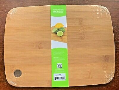 Bamboo Cutting Board Chopping / Serving Board 12 x 9 Inch Antibacterial Box of 6