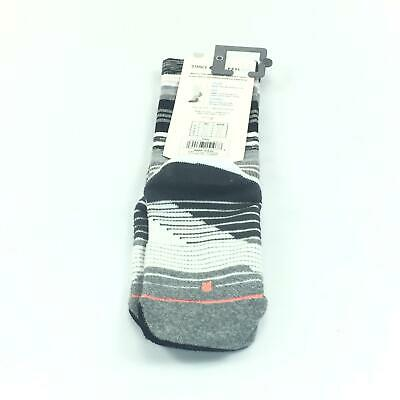 NWT Stance Active Support Grey and White Socks Size S (5-7.5) Bundle of 2