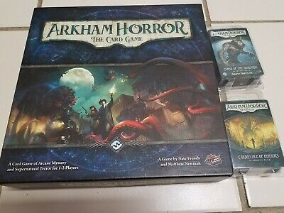 Arkham Horror the Card Game Curse of the Rougarou Carnevale of Horrors