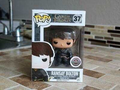 Funko Pop! Ramsay Bolton Game of Thrones #37 Vinyl Figure, Gamestop Exclusive