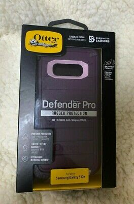 Otterbox Defender Pro Case for Samsung Galaxy S10e Authentic Purple Pink Rugged