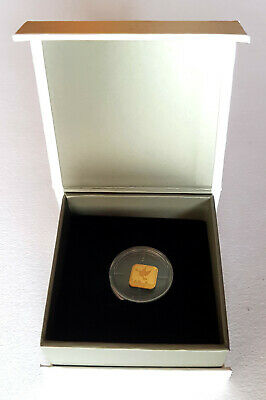 1gram Fine Gold Bar 999.9 Israel The Holy Land Mint Peace Dove Boxed