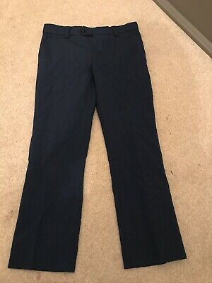 Boys Next Smart Navy Trousers Age 7