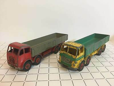 Dinky Toys GB Camion Foden + Leyland ( lot x2 ) 1/43
