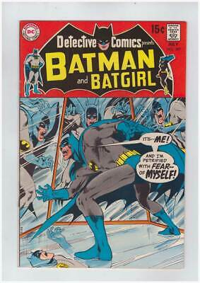 Detective Comics # 389  Petrified with Fear of Myself !  grade 7.5 scarce book !