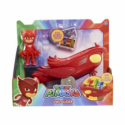 PJ Masks Owl Glider Vehicle with Owlette Figure - Brand New - 24577