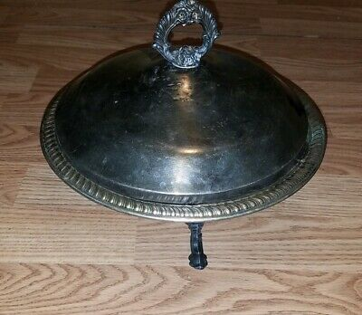 FB Rogers Silver Co 1158 Footed Serving Dish with Lid