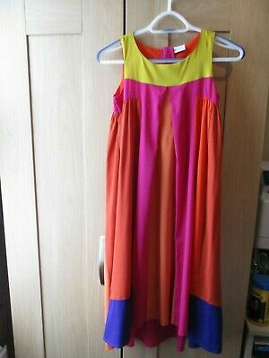 Girls Next Light Purples, Oranges, Pinks more Dress – Age 10 years Height 140 cm