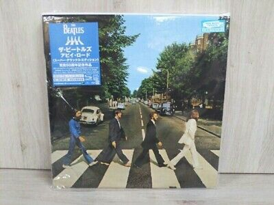 BEATLES Abbey Road 50th Anniversary Super Deluxe Edition 3 SHM-CD Blu-ray Audio