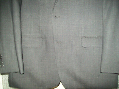 Marc Anthony Men's Gray Suit Jaket Size 40R 2 Button Excellent Used Condition