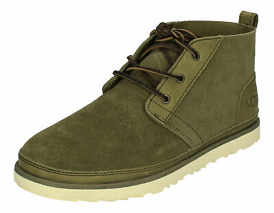 UGG Men's Neumel Waterproof Chukka Boot Leather in Grizzly Size US 8 UK 7